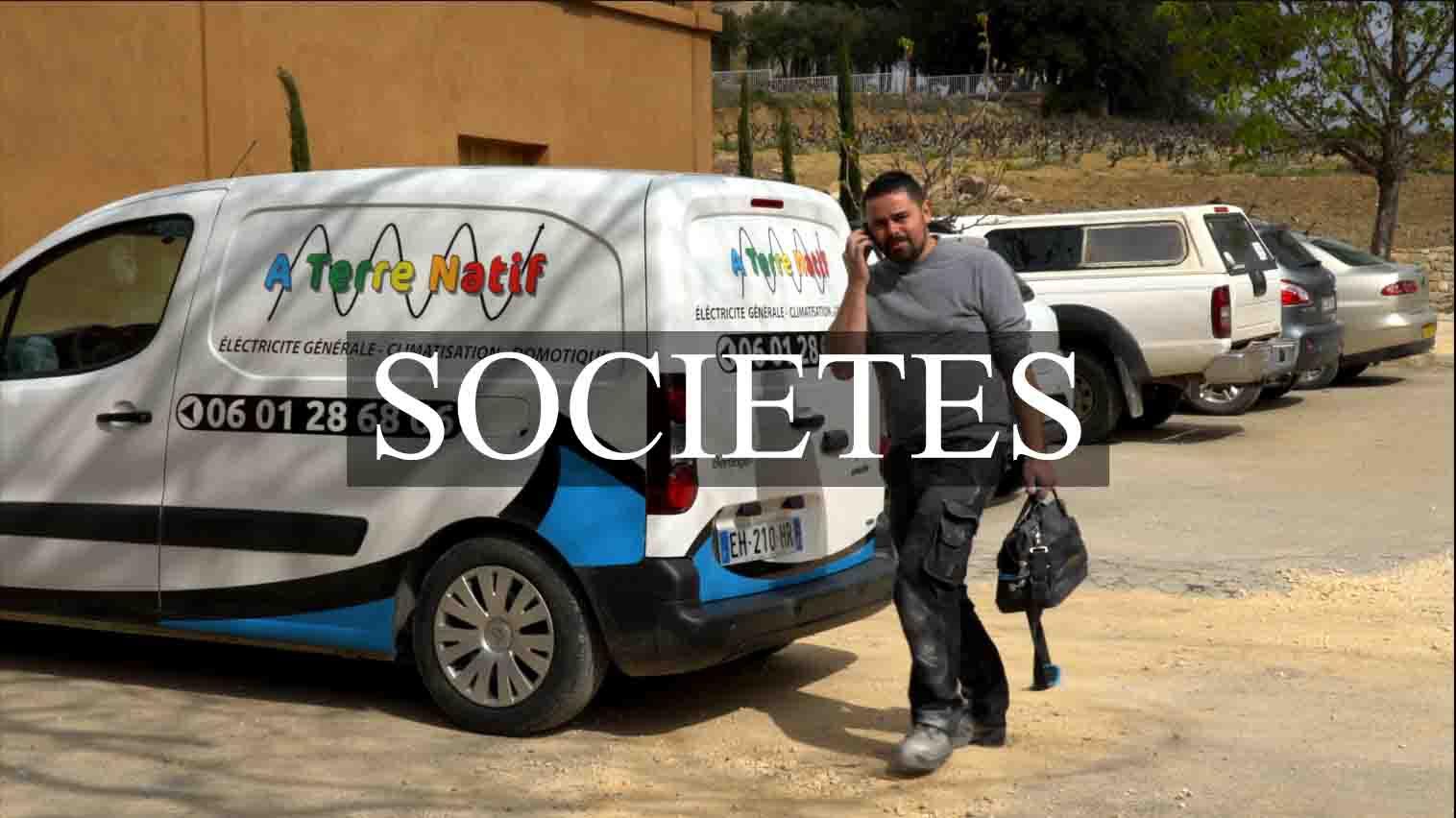 catégorie société, tarifs vidéo société